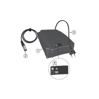 Cargador de 24 v PBQ para batería de litio lifePO