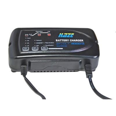 Cargador de 24 v HAZE  para batería AGM o Gel