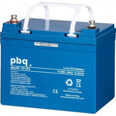 Batería Pbq con tecnología LifePo4