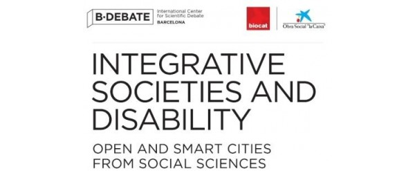 "Jornadas ""Integrative societies and disability: open and smart cities from social sciences"""